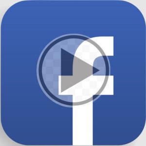 facebook play button